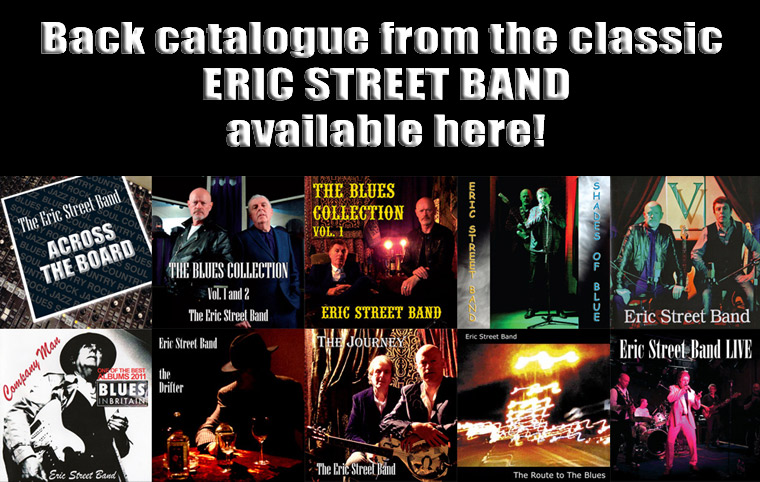 Buy classic Eric Street Band albums